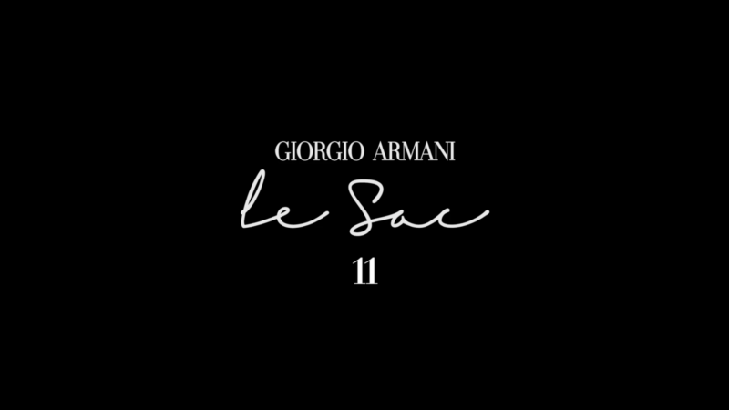 GIORGIO ARMANI – LE SAC 11 (1)