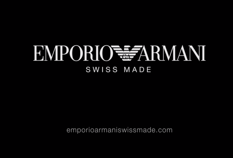 EMPORIO ARMANI SWISS MADE