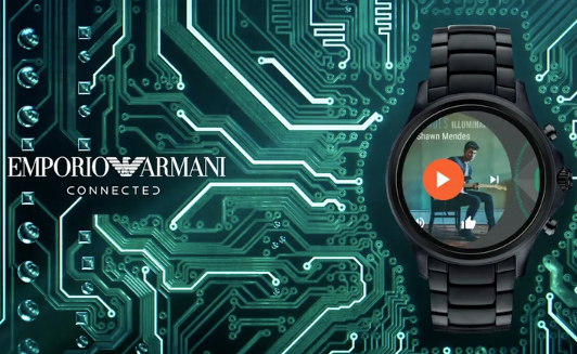 EMPORIO ARMANI CONNECTED – MUSIC CONTROL